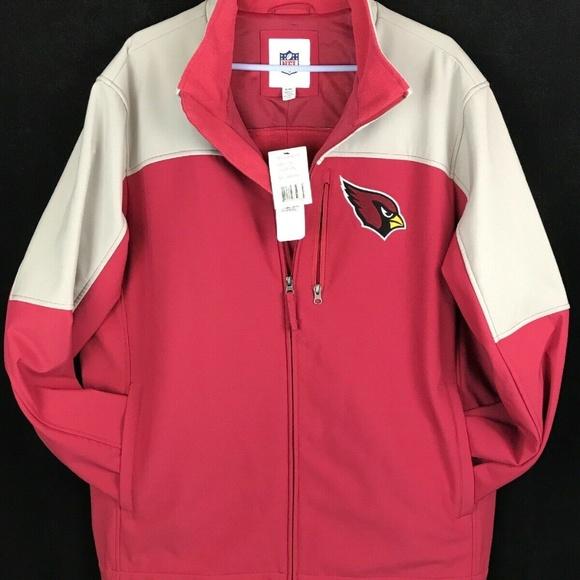 NFL Other - NWT NFL Arizona Cardinals Full Zipper Windbreaker
